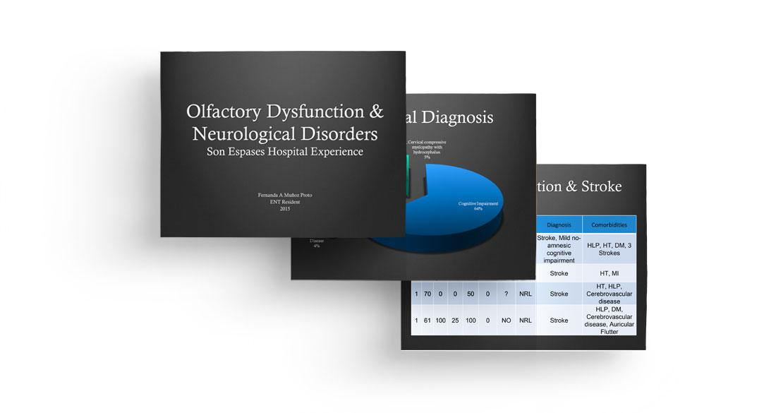 Olfactory dysfunction & neurological disorders