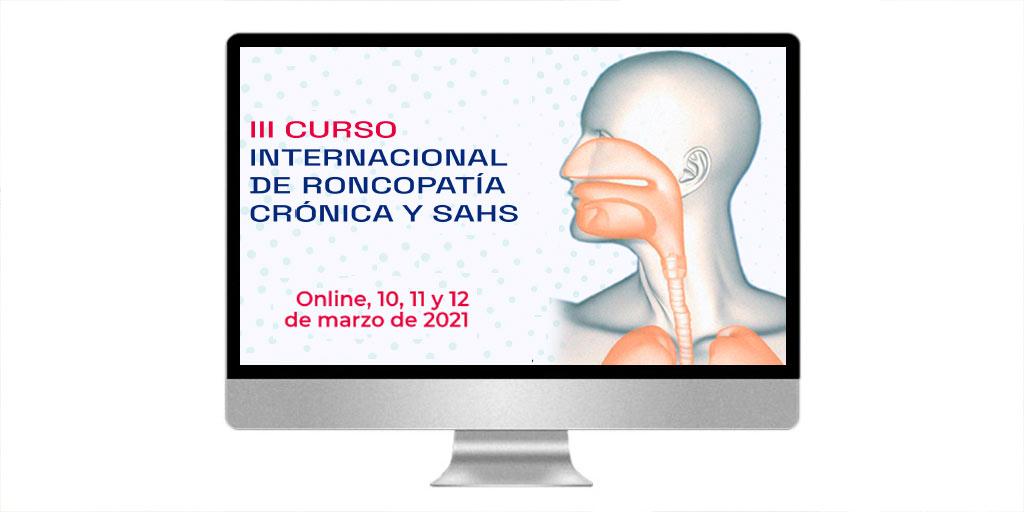 Curso internacional de Roncopatía crónica y SAHS